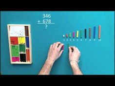 First of all make sure that you know the value of each strip Math 4 Kids, Material Didático, Homeschool Math, Montessori Toys, Teaching Math, Grade 1, Mathematics, Kids Learning, Student