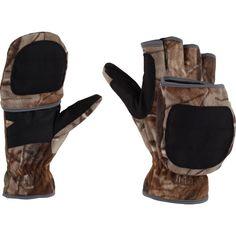 Carhartt Men's Flip It Mitten Gloves, Size: Medium, Black Floral Park, Mens Gloves, Mitten Gloves, Carhartt, Hand Warmers, Camo, Gift List, Nifty, Fingers