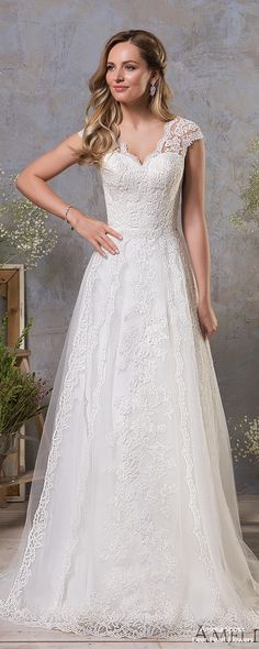 173954c8152e Amelia Sposa Wedding Dresses 2019 – In Love with Lace Collection
