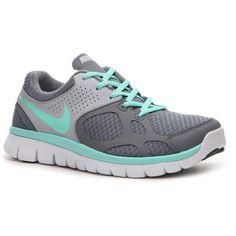 Nike Flex Run Lightweight Running Shoe - Womens (82 CAD) found on Polyvore