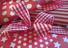 Christmas Wrapping Paper from dots and spots