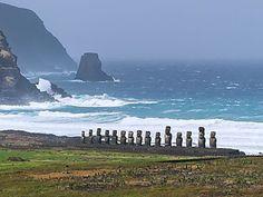 Île de Pâques - Tongariki - Chili