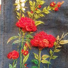 @buni_1226 • Instagram 사진 및 동영상 Needlework, Embroidery, Painting, Needlepoint, Dressmaking, Couture, Handarbeit, Painting Art, Paintings