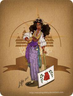 Disney steampunk: Esmeralda by MecaniqueFairy on DeviantArt