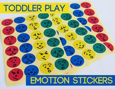 Learning about Emotions Preschoolers will be able to tell if someone is sad. Activity helps them develop emotions towards others.