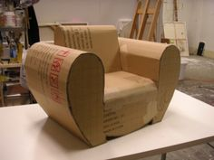 Paper furniture --- cardboard