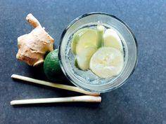 Kick-Start van de dag : verse gemberthee met limoen, citroengras/sereh en honing