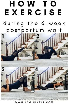 How to exercise during the first six-weeks postpartum. Safe and effective core e… How to exercise during the first six-weeks postpartum. Safe and effective core e…,Fitness How to exercise during the first six-weeks postpartum. Fitness Workouts, Fitness Motivation, Fitness Gym, At Home Workouts, Physical Fitness, Fitness Style, Fitness Equipment, Mens Fitness, 3 Weeks Postpartum