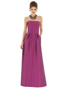 Bridesmaid Dress: ALFRED SUNG Bridesmaids, Fall 2013 Collection | Style D615