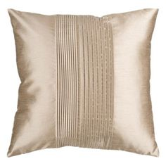 I pinned this Eden Pillow in Champagne from the Metallic Tidings event at Joss and Main!