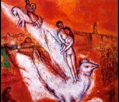 Марк Шагал -  Песнь песней  (1974) - Открыть в полный размер