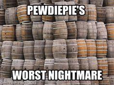 Pewdiepie vs. the Barrels