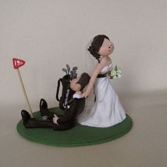 golf ball wedding cake topper wedding cake topper golf fan golfing groom golfer shoes 14842