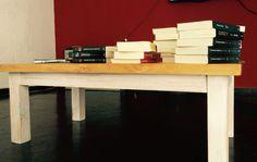 Mesa ratona. Decapado + tono. By me