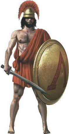 Ancient Greek Warrior
