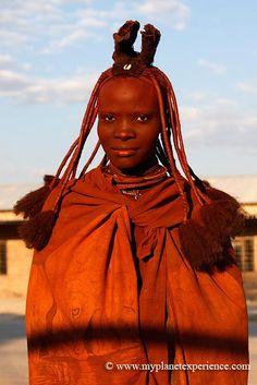 Traditional Himba woman - Namibia