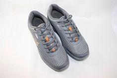 Gravity Defyer Mens FLEXNET ll Shoes Sneakers Grey Orange 12.5 M RETAIL FOR $130 #GravityDefyer #RunningCrossTraining
