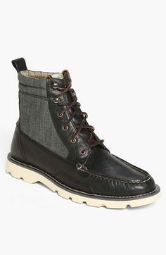 sweeeet pair of boots for a handsome guy..... Sperry Top-Sider® 'Shipyard Rigger' Boot available at #Nordstrom