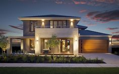 A double-storey design for those who appreciate the ultimate in modern living.