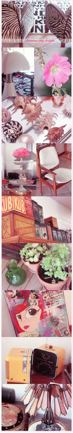 Discover vintage home, black and white design Black And White Design, Vintage Homes, Antique Boxes
