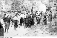 02 06 1941. The first brutal massacre in Europe during the WWII by German Huns.  Fallschirmjäger.net - Kondomari Massacre