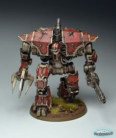 40k Forge World Chaos Decimator Daemon Engine | Flickr - Photo Sharing!