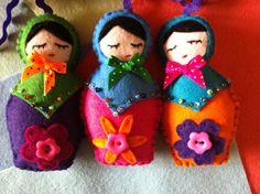 Fabulous felt babuska dolls