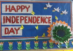 Independence Craft Work For Kids, Creative Activities For Kids, Fun Crafts For Kids, Preschool Activities, Art For Kids, School Board Decoration, Class Decoration, School Decorations, Independence Day Activities