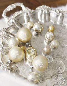 Metallic-Vintage-Holiday-Ornaments-A White Christmas with Luscious - mylusciouslife.com.jpg
