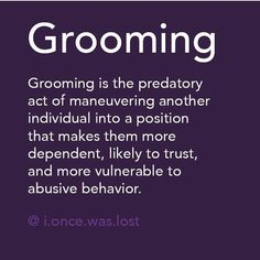 Narcissistic Tactic: Grooming. Nate tried gaslighting on me and failed. Wonder if he knows he learned it from you.....or if he even knows the term for that matter.