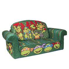 """Marshmallow - Flip Open Sofa - Teenage Mutant Ninja Turtles - Spin Master - Toys """"R"""" Us"""