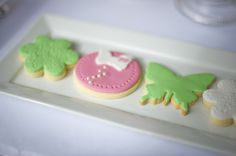 Fondant cookies. Would work well with our fondant cutters/presses