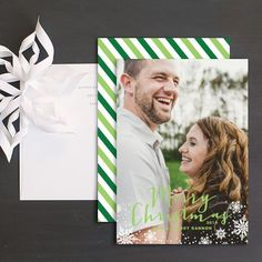 Snowflake Greeting Holidy Photo Cards by Paper and Parcel Wedding Stationery, Wedding Invitations, Christmas Photo Cards, Cool Patterns, Bold Colors, Save The Date, Snowflakes, Paper, Fun