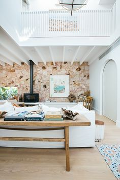 Kyal and Kara have project managed, designed or completed over 25 renovation projects. Living Room Designs, Living Spaces, Piece A Vivre, Beach House Decor, Home Decor, My Dream Home, Home Interior Design, Home Furniture, Decoration