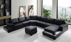 Divani Casa Ritz Modern Bonded Leather Sectional Sofa Set By Vig Furniture
