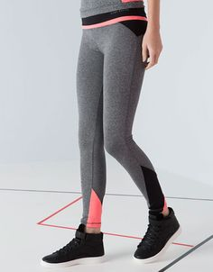 Bershka United Kingdom - Bershka tricolour sports leggings