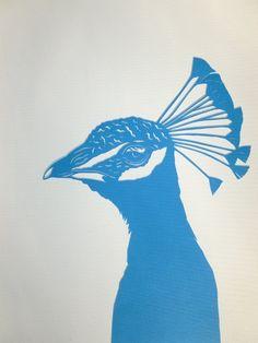 Papercut Peacock