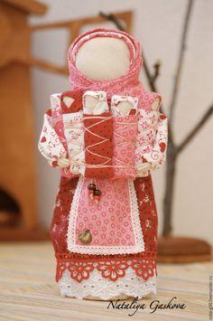 Folk Doll / Деток много не бывает. - ярко-красный, кукла, народная кукла, русский сувенир