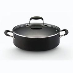Anolon Anolon Advanced 5.25 Quart Covered Sauteuse - $59.99    This convenient specialty piece fits easily in the oven and can be used as a serving piece. Straight, deep sides provide extra capacity allowing you to sear meats and add liquid to braise, stew or deglaze.