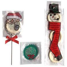 Have a safe Christmas!  #santaclaus #christmas #condom #lollipop #fun