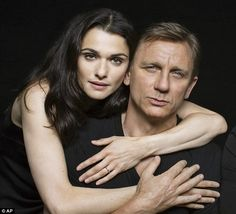 Mr & Mrs: Rachel Weisz & Daniel Craig met on the set of Dream House in 2011, pictured in promotional shot for Betrayal.