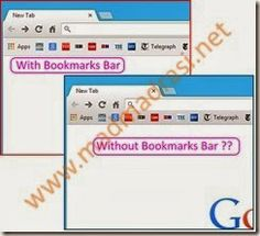 Google Chrome 32 released with erratic Bookmarks Bar. Its always ON instead of ON/OFF in #googlechrome 32 stable :-(