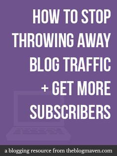 One simple trick to help you get more blog subscribers #hsbloggers