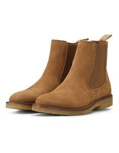 Chelsea Boot Cognac Suede