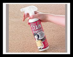 Wipe Out Stain Remover Only costs This miracle stain removing product works on all types of stains on all types of surfaces - from metal to fabric and even the driveway! Coffee Stain Removal, House Proud, Laundry Supplies, Yogurt Smoothies, Coffee Staining, Wipe Out, Cleaning Solutions, Cleaning Products, Carpet Stains