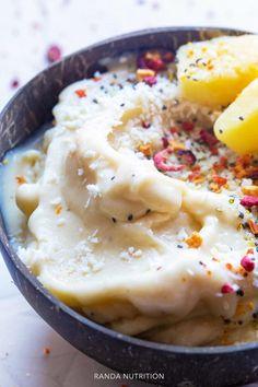 Dairy Free Pina Colada Ice Cream nice Cream