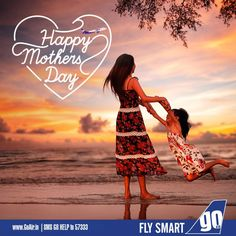 GoAir wishes moms everywhere a Happy Mother' s Day!
