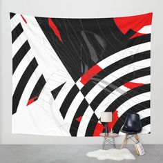 Buy black and white meets red Version 8 Wall Tapestry by Christine baessler. Worldwide shipping available at Society6.com. Just one of millions of high quality products available.