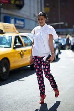 Lily Kwong, socialite and cousin of designer Joseph Altuzarra