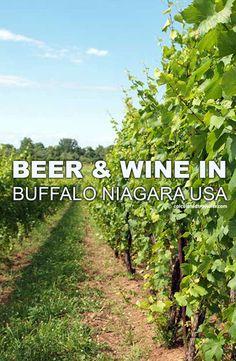 Experiencing Beer and Wine in Buffalo Niagara USA #NiagaraWineTrailUSA by Calculated Traveller